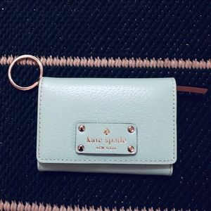 Kate Spade wallet with key ring